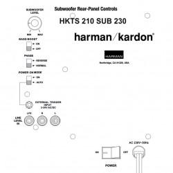 Harman Kardon HKTS210SUB-230 Ruilmodule