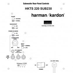 Harman Kardon HKTS220SUB-230 Ruilmodule Subwoofer vanaf € 92.- inclusief retour sturen