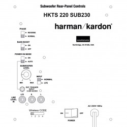 Harman Kardon HKTS220SUB-230 Wireless Reparatie