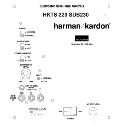 Harman Kardon HKTS220SUB-230 Wireless Reparatie