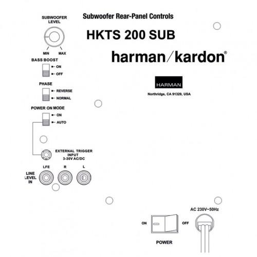 Harman Kardon HKTS200SUB-230 Ruilmodule