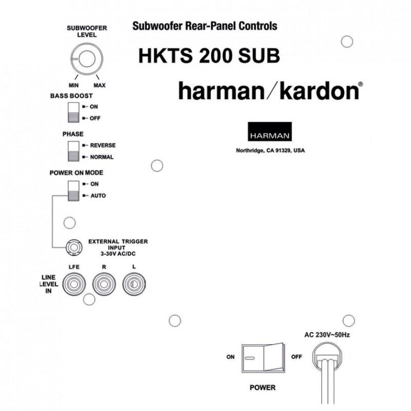 Harman Kardon HKTS200SUB-230