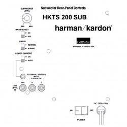 Harman Kardon HKTS200SUB-230 Reparatie