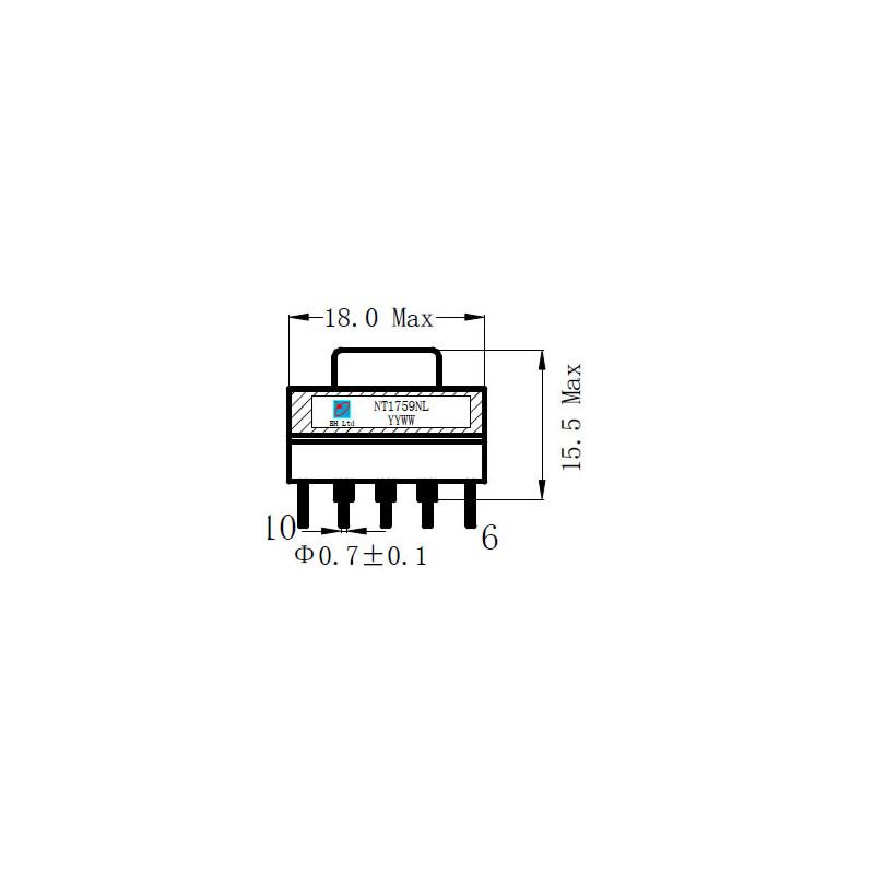 NT1759NL TRANSFORMER